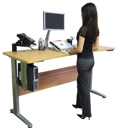 what are the advantages of using a stand up desk