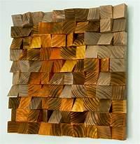 "wood wall art Wood Wall Art, geometric wood art, mosaic, ""The Hell's ..."