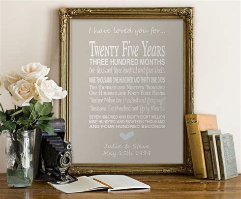 1000+ Ideas About 25th Anniversary Gifts On Pinterest