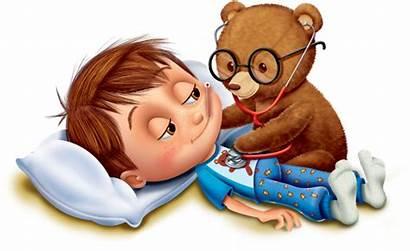 Doctor Child Children Illustration Boy Health Bear