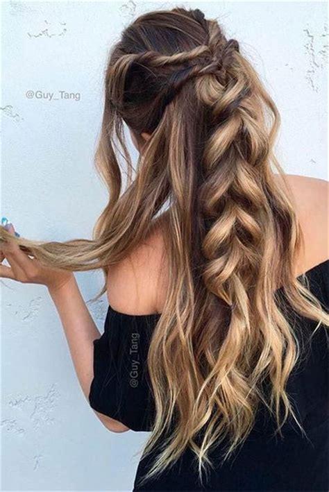 6 stylist hairstyle ideas for long hair beach wedding 15 amazing summer hairstyle braids for girls women 2017