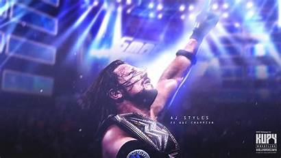 Wwe Aj Wallpapers Deal Champion 2x Signs
