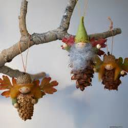 willodel pinecone fairy ornament tutorial