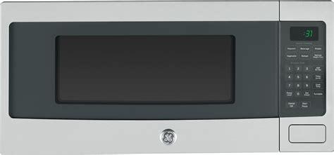 ge pemsfss  cu ft countertop microwave oven   watts  power levels sensor