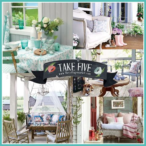 Cottage Porch by Take 5 All About The Cottage Porch The Cottage Market