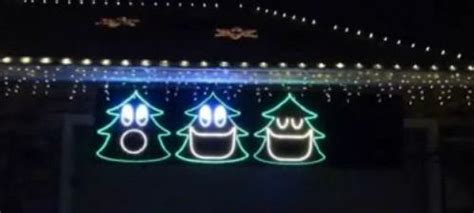 north aspen christmas musical christmas light display in