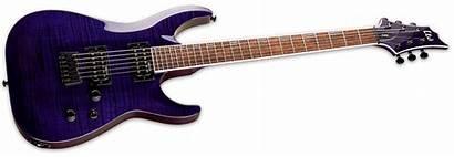 Esp Ltd Purple Thru Guitar 200fm Electric