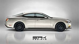 Une Ford Mustang GT Berline 4 Portes Après Le SUV Mach-E - 421CHEVAUX.COM