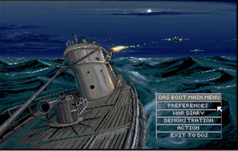 U Boat Game by Das Boot German U Boat Simulation Classicreload