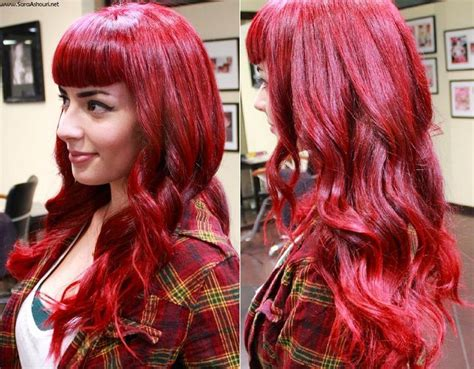 1000+ Ideas About Magenta Red Hair On Pinterest