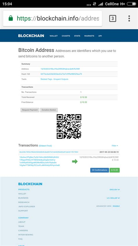 Just enter the bitcoin addresses you want to verify, one per line, and you will see updated in real time the number of transactions of the address, the total amount of bitcoin received, the current final balance in bitcoin. transactions - Why bitcoins not reflected in bitcoin wallet after being transferred from Web ...