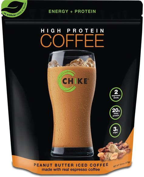 Amazon.com: Chike Nutrition High Protein Coffee, 17.56 oz