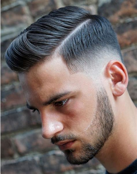 side part haircuts cool modern