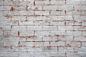 Peeling Painted Brick Wall Texture Picture