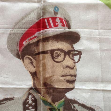 Mobutu Sese Seko, scarf edition / Boing Boing