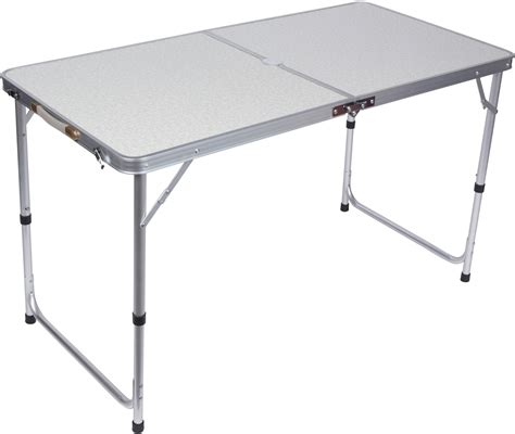 aluminum portable folding table lightweight adjustable portable folding aluminum c