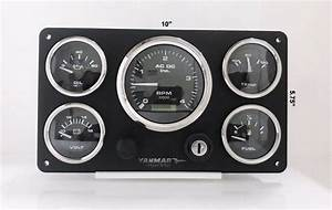 Yanmar Engine Boat Instrument Panel Pre Wired