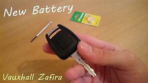 Batterie Opel Zafira : replacing vauxhall zafira car key battery youtube ~ Medecine-chirurgie-esthetiques.com Avis de Voitures