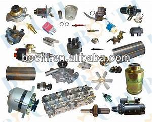 Car Engine Spare Parts Names