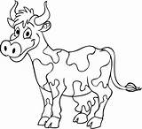 Coloring Cow Printable Sheets Popular sketch template