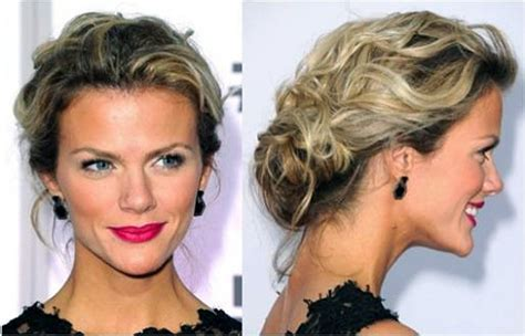 Messy Updos For Curly Hair   newhairstylesformen2014.com