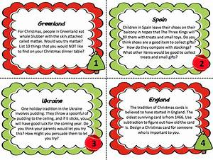 Christmas Around The World : christmas around the world creative thinking task cards tpt store more than a worksheet ~ Buech-reservation.com Haus und Dekorationen