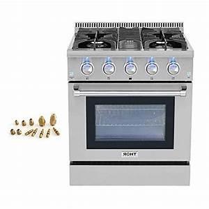 30 U0026quot  Thor Kitchen Free Standing 4 Burner Gas