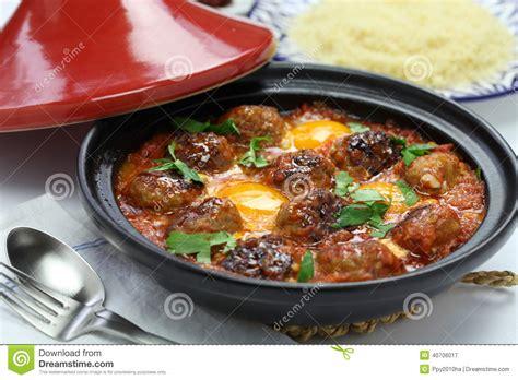 cuisine marocaine tajine agneau tajine de kofta tagine de kefta cuisine marocaine photo