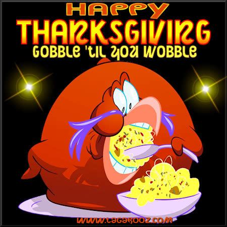 happy thanksgiving gobble til  wobble graphics