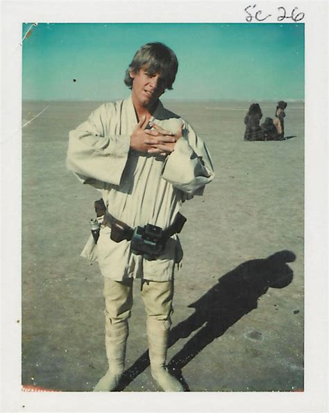 On The Set Of Star Wars Episode Iv A New Hope Bfi