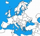 Image - Blank Map of Europe.png | TheFutureOfEuropes Wiki ...