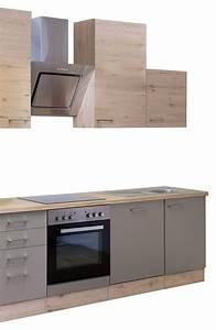 Küchenzeile 310 Cm Mit Elektrogeräten : k chenzeile riva k chenblock mit elektroger ten 310 cm bronze metallic ~ Bigdaddyawards.com Haus und Dekorationen