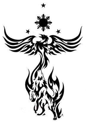 Phoenix Tattoos, Designs And Ideas : Page 30 …   Tribal phoenix tattoo, Tribal tattoos, Phoenix