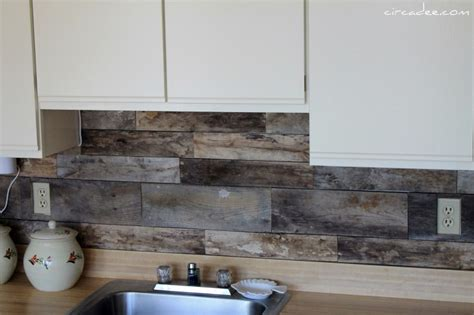 inexpensive backsplash ideas for kitchen cheap diy rustic kitchen backsplash shelterness