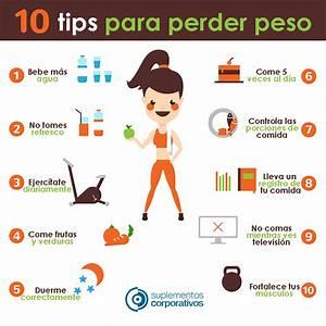 Tips para perder peso Hoy Saludable