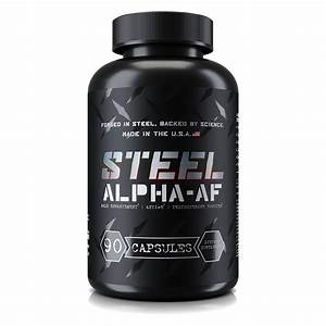 Steel Alpha Af  Is It A Powerful Pct Supplement   2020
