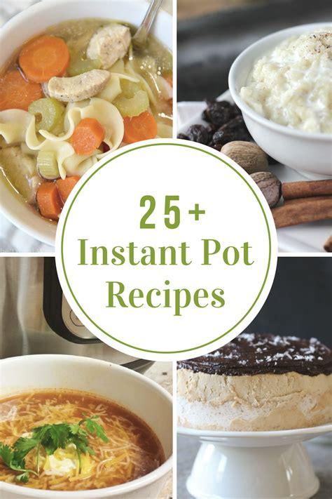 instant pot recipes the idea room