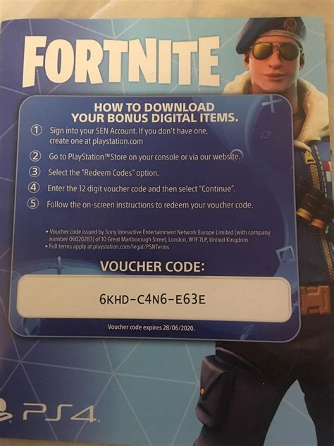dont play fortnite  heres  ps code   skin