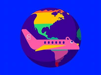 Lgbt Culture Trip Gifs Animated Travel Dribbble
