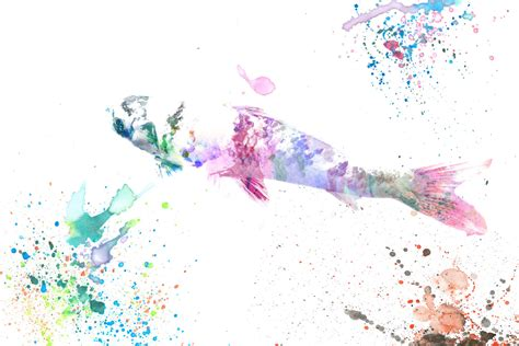 Watercolor Wallpaper by Fishes Watercolor Wallpapers High Quality Free