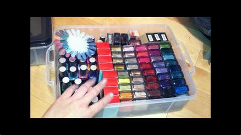 nails nail polish storage idea  target youtube