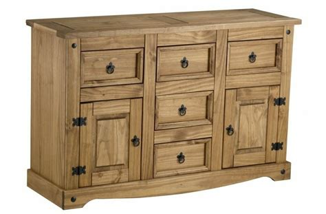 Mexican Pine Sideboard by Corona Large Sideboard Mexican Pine Solid Wood Furniture