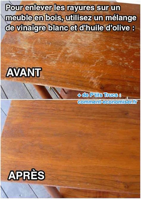 l astuce incroyable pour faire dispara 238 tre les rayures sur un meuble en bois