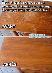l39astuce incroyable pour faire disparaitre les rayures sur With enlever la poussiere sur les meubles