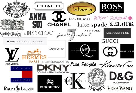 designer brands list designer fashion clothing logo quotes