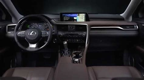 lexus jeep 2016 inside 2016 lexus rx 450h interior design automototv youtube