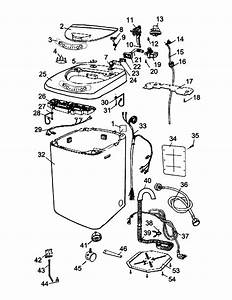 Cabinet Assy Diagram  U0026 Parts List For Model Hlp21n Haier