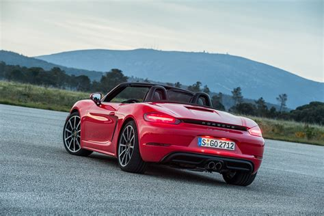 Review Porsche 718 by 2017 Porsche 718 Boxster Review Caradvice