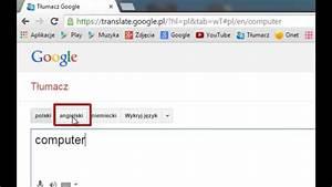 Tumacz Google - Google Translate