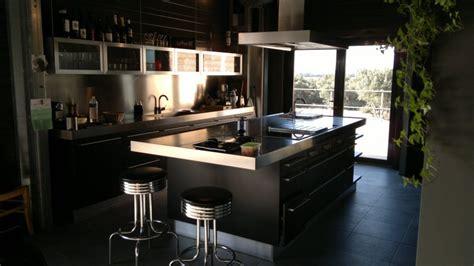 cuisine noir mat et bois cuisine noir mat et bois cuisine nous a fait 224 l
